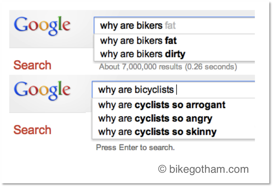 Why are bikers dirty? Why are bicyclists so arrogant?